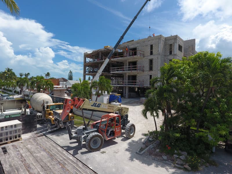 September 2017 Construction Update for Thirty Six Paradise Island