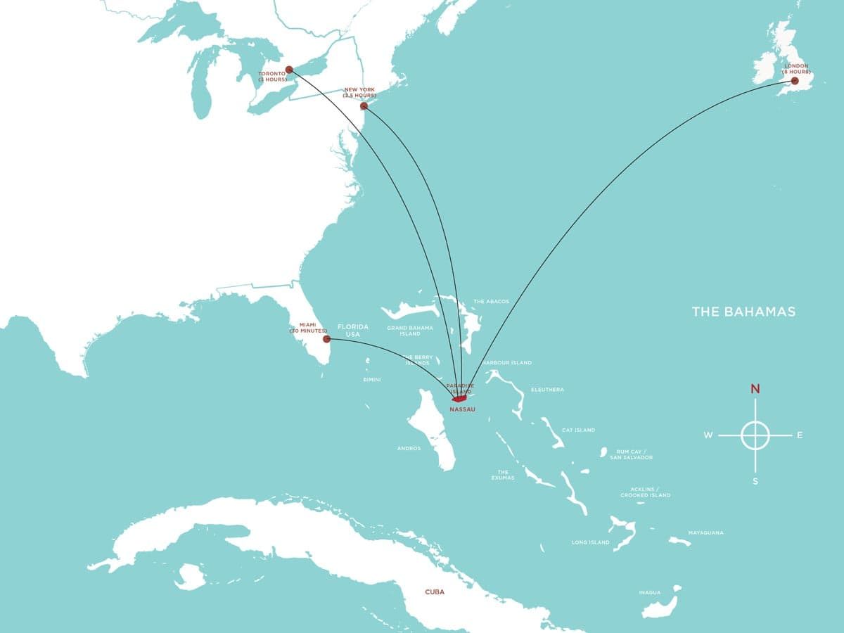 Bahamas On World Map Zurich Airport Map Map Of Richmond Va Area - Bahamas location map