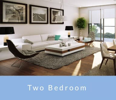 Two Bedroom Interior at Thirty Six | Bahamas - prime Caribbean real estate