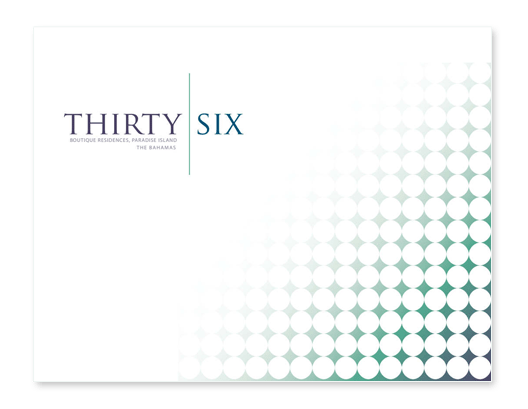 Thirty Six Luxury Condos brochure - Caribbean real estate